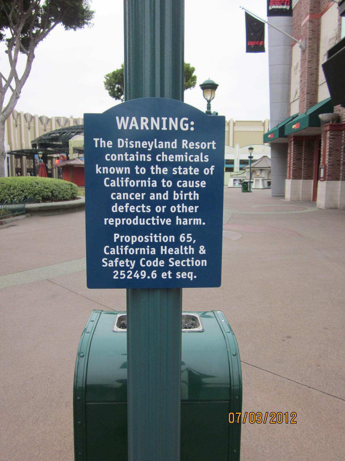 When are California's Regulation too much ??