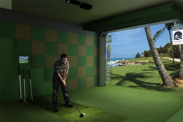 Hdgolf Simulator Installation Oc Small Business